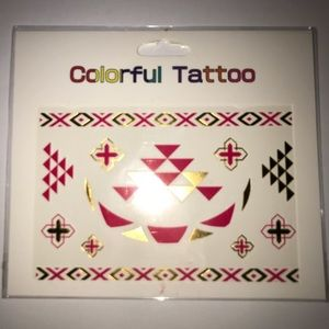 Other - NEW Colored Flashed Tattoos